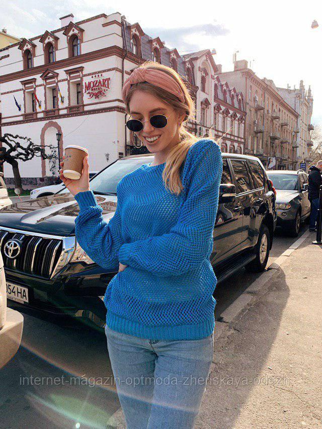 Легкий женский свитер