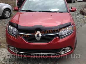 Дефлектор капота (мухобойка) SIM для Dacia  Stepway 13+ (Дачиа Стэпвэй 13+)