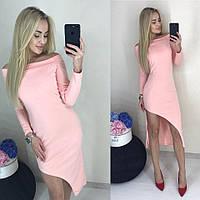 Платье разрезом