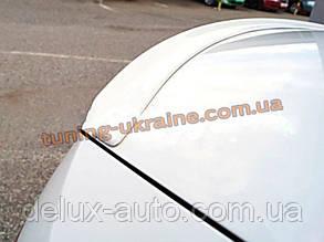 Низкий лип спойлер на Skoda Octavia A7