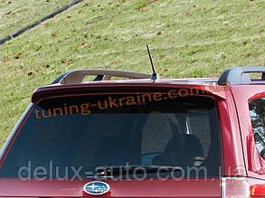 Задний спойлер на Subaru Forester 2010-14