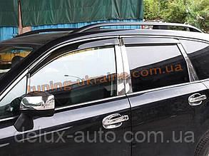 Ветровики с хром кантиком на Subaru Forester 2013+