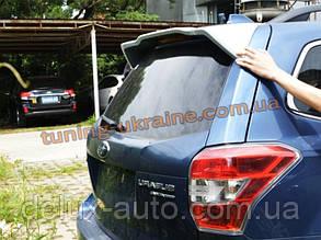Задний спойлер на Subaru Forester 2013+