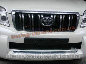 Накладка на бампер передняя Toyota Prado FJ150