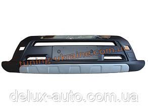 Накладка на бампер передняя Toyota RAV4 2006-13