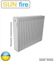 Стальной радиатор SUN fire 22 тип 500х900 (Мощность 1669 Вт). Украина.