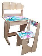 """Детская парта и стул растишка """"Смешарики"""""""