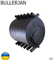 Газогенераторная печь BULLERJAN 02 (Буллерьян 18 кВт, пр-во Киев). Украина.