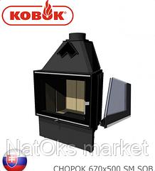 Каминная топка KOBOK CHOPOK 670х500 SM SOB (мощность 10 кВт). Словакия.