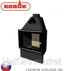 Каминная топка KOBOK CHOPOK 670х500 SM (мощность 10 кВт). Словакия.