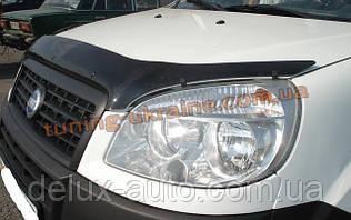 Дефлектор капота (мухобойка) SIM для Fiat Doblo 2000- 2009