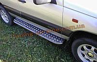 Боковые пороги площадки на Chevrolet Niva Bertone