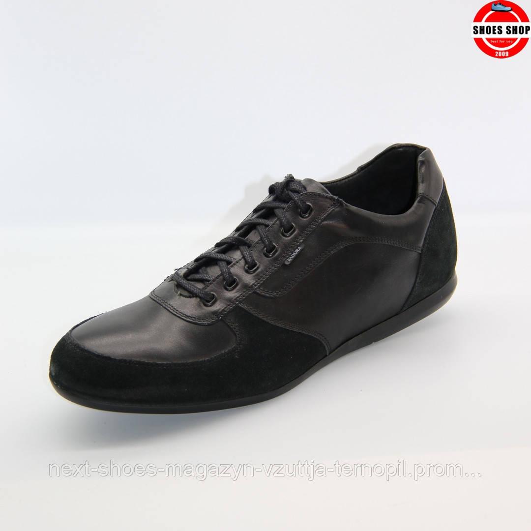 Чоловічі броги Badura (Польща) чорного кольору. Дуже красиві та комфортні. Стиль - Джуд Лоу