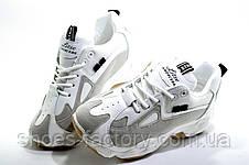 Белые кроссовки на танкетке, Женские, фото 2