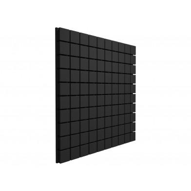 Панель з акустичного поролону Ecosound Tetras Black 100x100 см, 30 мм, чорний графіт