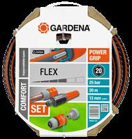 "Шланг Gardena Flex 9x9 (1/2"") 20 м: комплект"