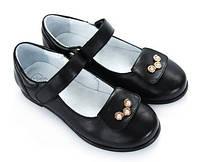 Туфли Девочек Обувь Школа КОЖА Украина  Размер 30-36 Взуття Мальви