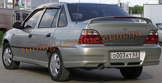 Спойлер Sport на скобах на Daewoo Nexia 1994-2002