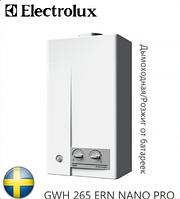 Газовая колонка ELECTROLUX GWH 285 ERN NANO PRO. Швеция.