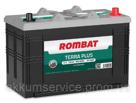 Аккумулятор автомобильный ROMBAT TERRA PLUS 130AH R+ 900A (TP130DT)