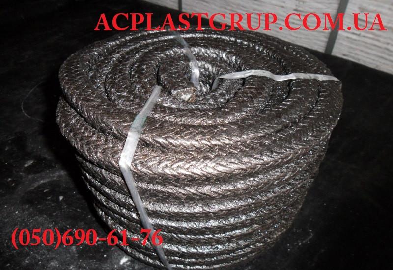 Набивка сальниковая АП-31, плетеная, жировая, в бухте, диаметр 18.0 мм.