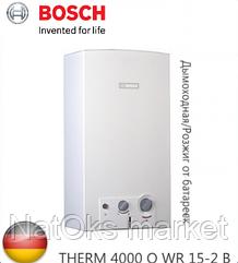 Газовая колонка BOSCH THERM 4000 О WR 15-2 B. Германия.