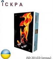 Газовая колонка ИСКРА JSD 20 LCD (огонь). Украина.