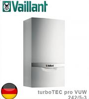 Котел настенный двухконтурный Vaillant turboTEC pro VUW 242/5-3 (24 кВт). Германия.
