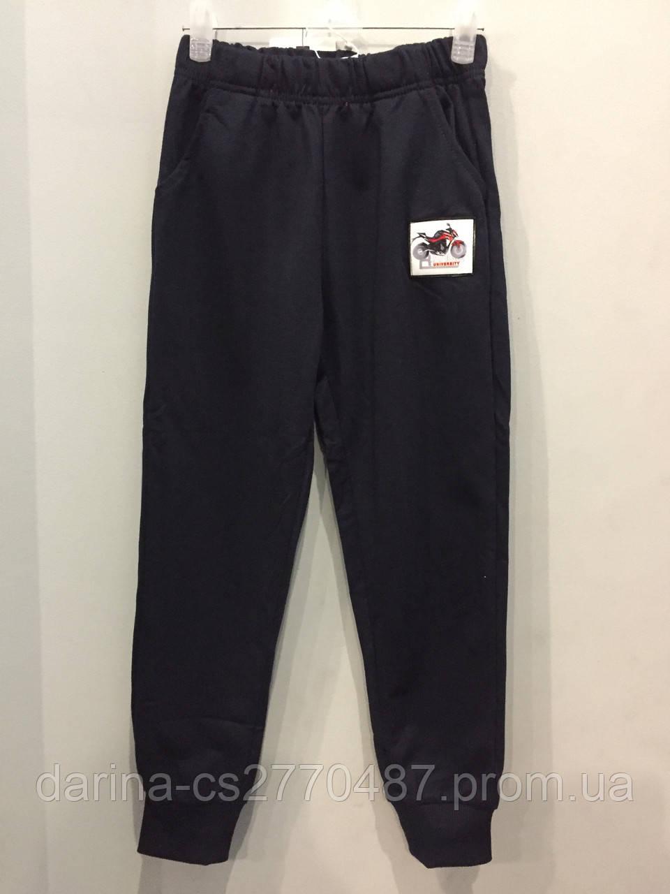 Спортивные штаны с принтом для мальчика 128 см