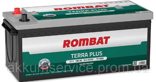 Акумулятор автомобільний ROMBAT TERRA PLUS 180AH R+ 950A (TP180G)