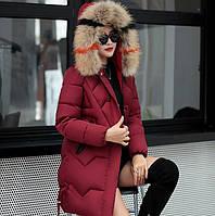 Женский зимний пуховик. Модель 776, фото 9