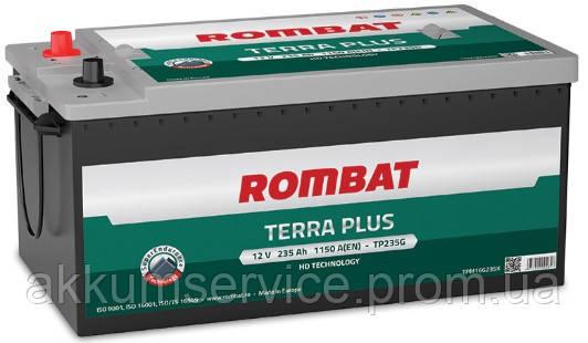 Аккумулятор автомобильный ROMBAT TERRA PLUS 235AH R+ 1150A (TP235G)