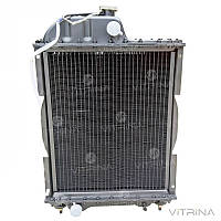 Радиатор водяной МТЗ (Д-240) 4-х рядный латунь | 70У-1301010 (Оренбург)