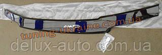 Дефлектор капота (мухобойка ANV) для Lada Kalina 1117 (универсал)