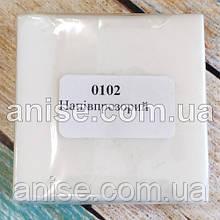Полімерна глина Пластишка, №0102 напівпрозорий, 75 г / Полімерна глина Пластішка, №0102 напівпрозорий, 75 г