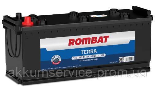 Аккумулятор автомобильный ROMBAT TERRA 135AH R+ 800A (T135G)