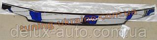 Дефлектор капота (мухобойка ANV) для Lada Kalina 1117 (универсал) 2013+