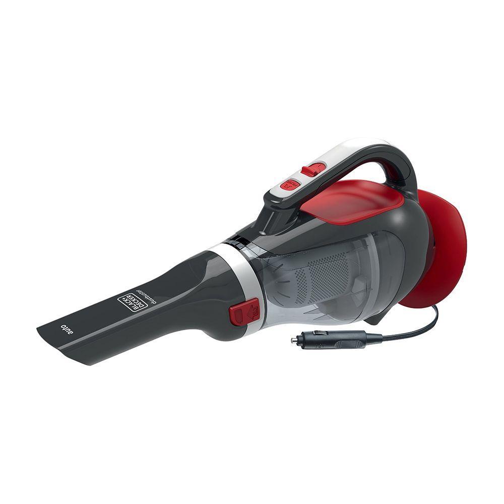 Пылесос автомобильный циклонный фильтр 12 В 061 л 5 м - Black & Decker