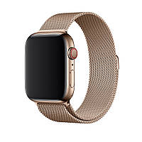Ремешок Leo для Apple Watch Series 1 Milanese Loop 38 mm Gold 94153, КОД: 382344
