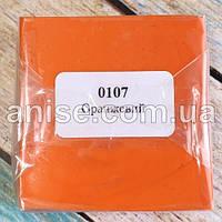 Полимерная глина Пластишка, №0107 оранжевый, 75 г / Полімерна глина Пластішка, №0107 оранжевий, 75 г