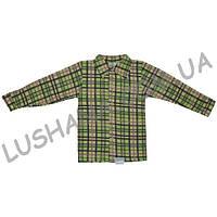 Тёплая рубашка на рост 116-122 см - Начёс