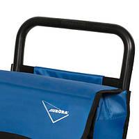 Хозяйственная сумка-тележка, кравчучка, сумка для покупок Aurora Vicenza 50 Blue