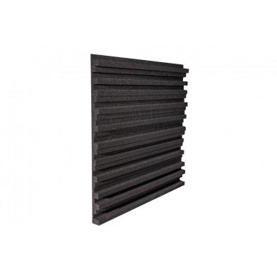 Панель из акустического поролона Ecosound Manhattan mini 30 мм, 50х50 см, черный графит