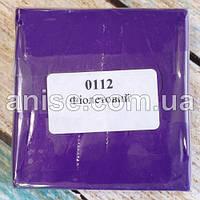 Полимерная глина Пластишка, №0112 фиолетовый, 75 г / Полімерна глина Пластішка, №0112 фіолетовий, 75 г