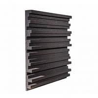 Панель из акустического поролона Ecosound Manhattan mini 50 мм, 50х50 см, черный графит, фото 1