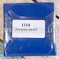 Полимерная глина Пластишка, №1114 лузурная волна, 75 г / Полімерна глина Пластішка, №1114 лузурно-синій, 75 г.