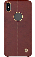 Накладка Nillkin Englon для iPhone X Xs Brown, КОД: 324168