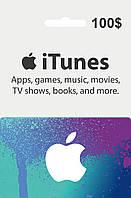 Подарочная карта iTunes Apple / App Store Gift Card на сумму 100 usd, US-регион
