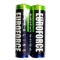Батарейка EUROFORCE ААА (LR3) FOL 2 (30/360) (2шт/упак)