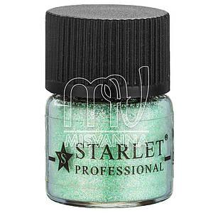 Микроблестки песок Starlet Professional SP-001, салатовые